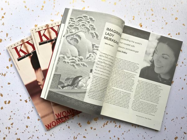 kyoto journal women's lives liza dalby interview murasaki
