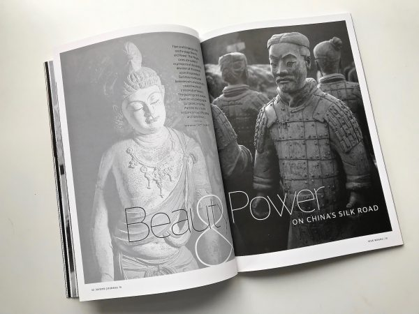 Beauty Power silk road Kyoto Journal magazine