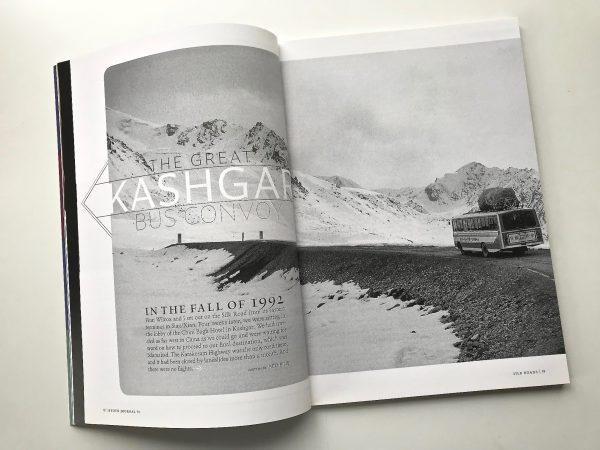 Kashgar silk road Kyoto Journal