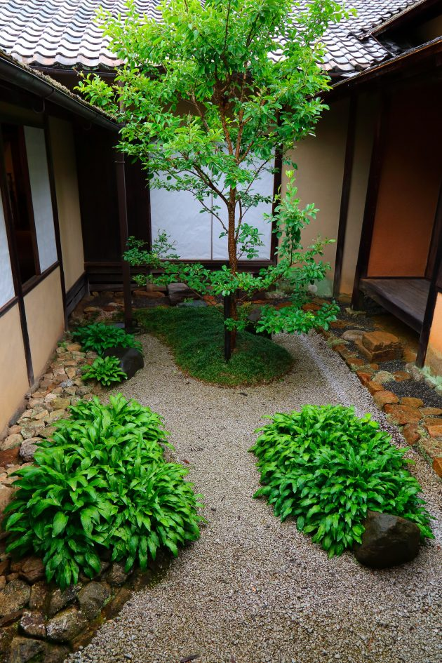 Japanese Courtyard Gardens Kyoto Journal