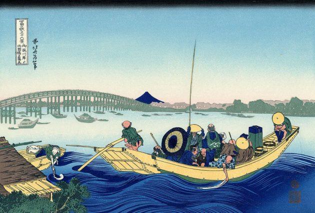 1024px-Sunset_across_the_Ryogoku_bridge_from_the_bank_of_the_Sumida_river_at_Onmagayashi