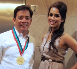 Shamcey Supsup and Kathryn Doria Goto