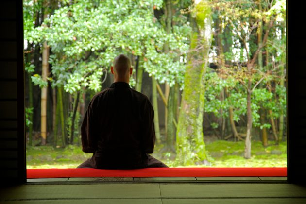 Michael Stone - Meditating in Kyoto