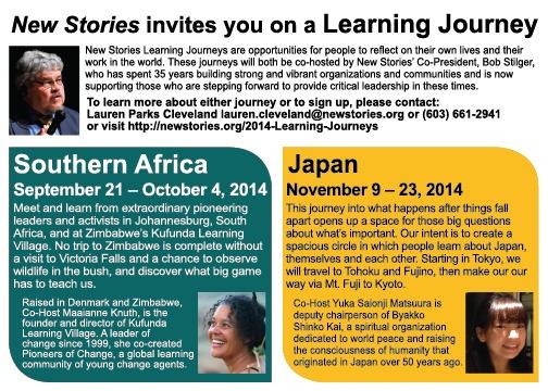Learning Journeys Bob Stilger Workshop South Africa Japan