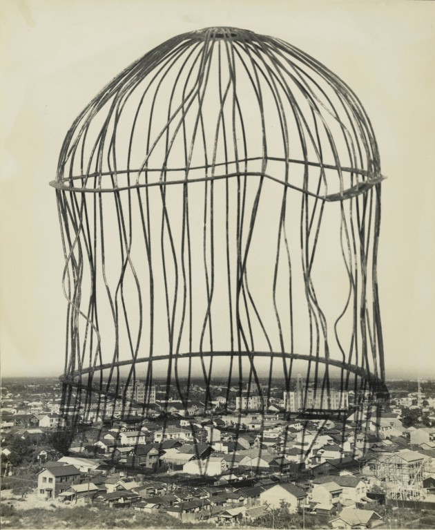 """Reminiscence"" (1953) by Kansuke Yamamoto, gelatin silver print, © Toshio Yamamoto, Anne & David Ruderman."