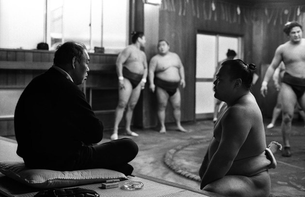 Oya=Seki Kyoto Journal sumo wrestling training Japan
