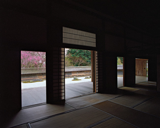 "Ryoanji, from ""View, Kyoto"" by Photo Artist Jacqueline Hassink"