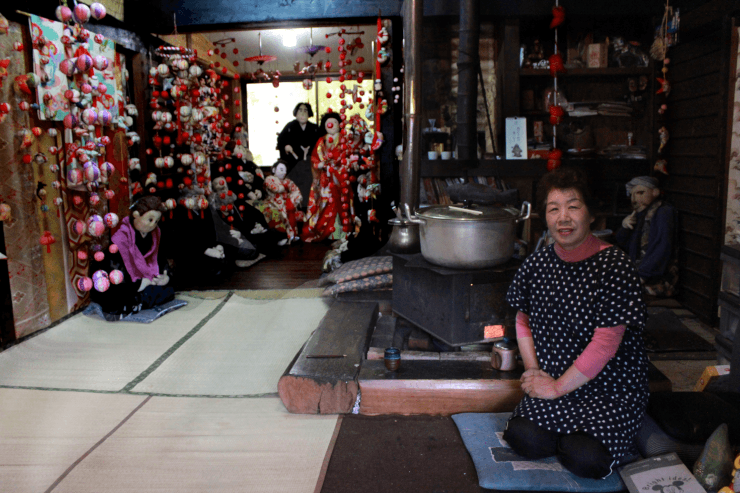 Ayano Tsukimi in Nagoro, Japan