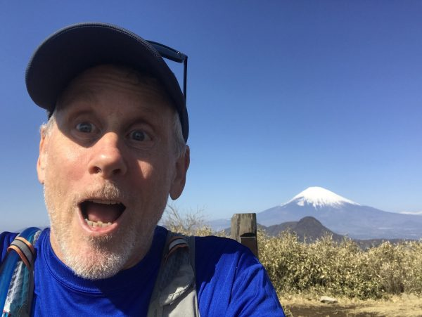 David Cozy at Mt Fuji