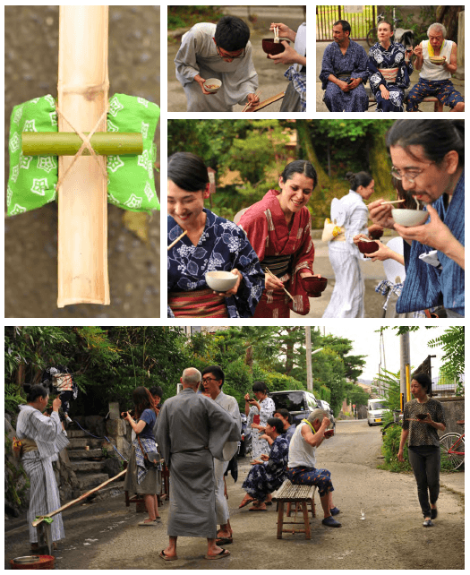 Traditional Japanese tea culture in Kyoto