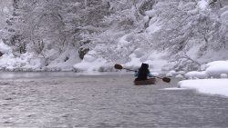 「Hunter Gatherer」Going Upstream of Ani River 2018 ©︎Tomoko Konoike