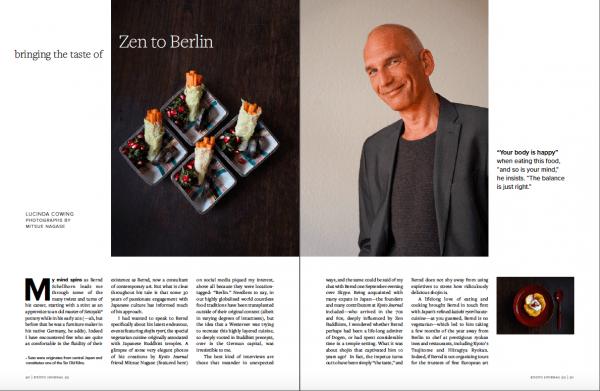 Kyoto Journal Food Shojin Ryori Berlin