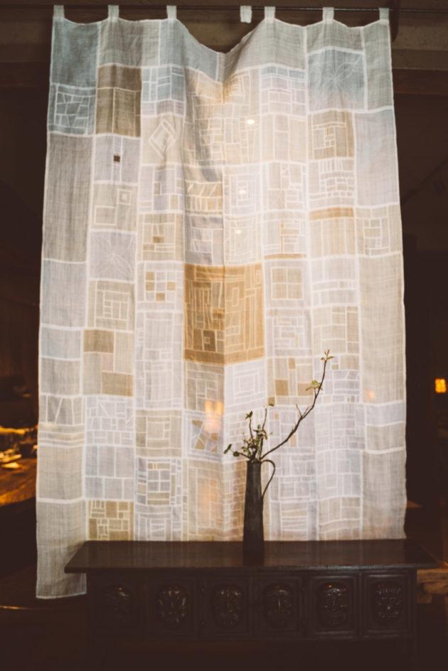 somushi korean teahouse pojagi textile minechika endo