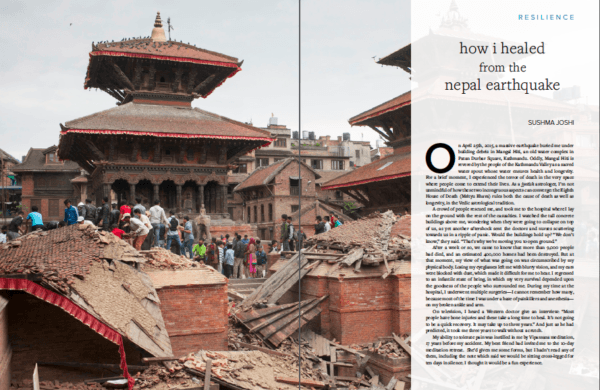 How i healed nepal earthquake