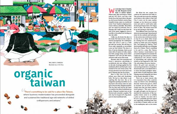Organic Taiwan Bill Stimson markets sustainability
