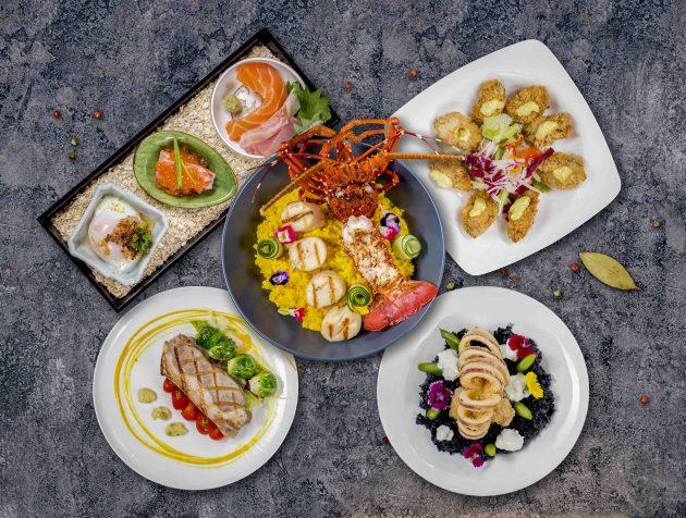 forte hotel yamagata kaku hot spring spa food dining cuisine taiwanese seafood