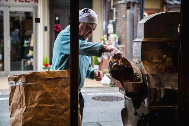 Hojicha roasted tea Otsu Nakagawa Seiseido Shiga Japan
