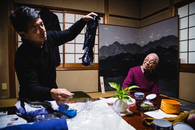 【Kyoto Journal】京鹿の子絞り職人 重野和夫・泰正様 Interview with Traditional Craftsmen