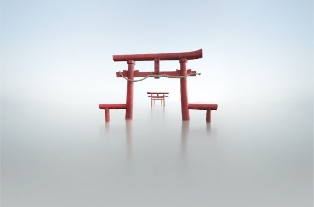 Infinity sea shrine Loscar Numael Japan