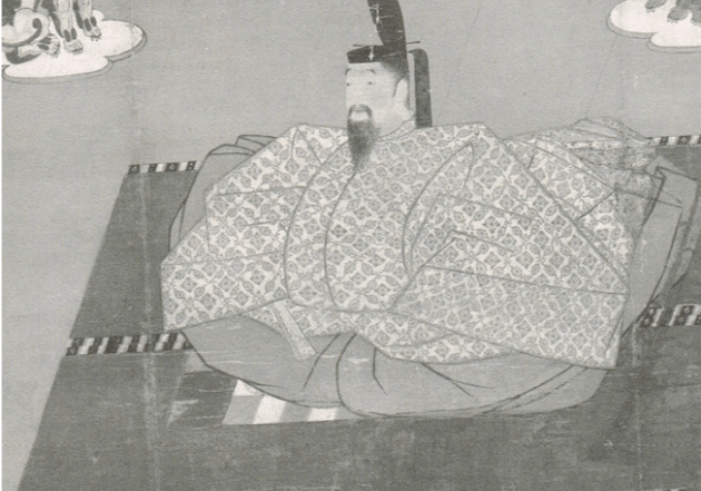 Emperor Godaigo, Notional Treasure, Oaitokuji-so