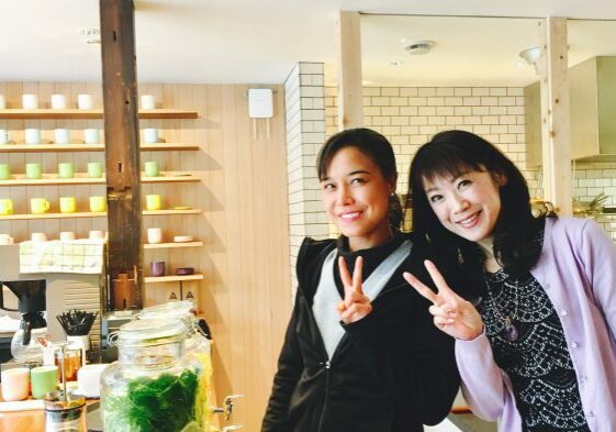 Yoko Yamada and Julie Gramlich